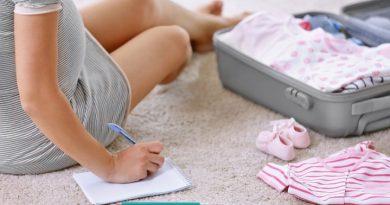 बाळंतपण दरम्यान कपडे
