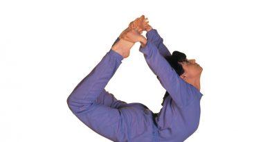 Purn Dhanurasana Yoga in marathi