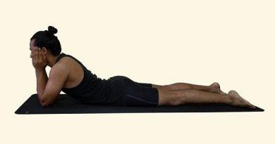 Makarasana yoga in marathi