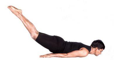 Salabhasana yoga in marathi