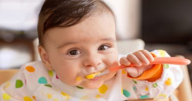 Diet for growing baby in marathi