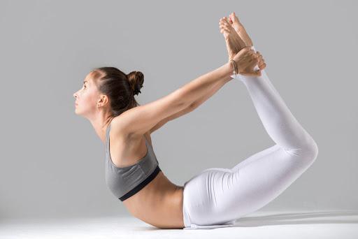 Dhanurasana Yoga In Marathi