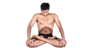Uddiyana yoga in Marathi